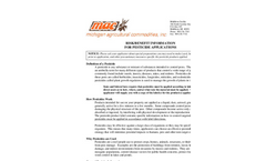Risk and Benefit Information for Pesticide Applications pdf
