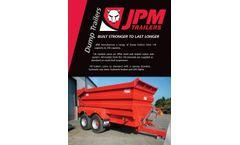 JPM - Dump Trailer - Bochure