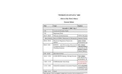 2009 Window On Ottawa - Agenda Brochure (PDF 22.2 KB)