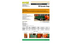ROCHE - Model RES Series - Low-level Manure and Compost Spreaders - Brochure
