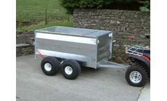 Model TF604B - Double Axle - ATV Trailer