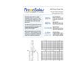 Arzon Solar - Model uM2 - Solar Power Generator Datasheet