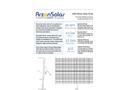 Arzon Solar - Model uM2 - Silicon Solar Generator Datasheet