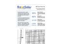 Arzon Solar - Model uM6 - Solar Power Generator Datasheet