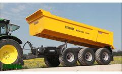 Stronga DumpLoada DL1400 trailer - An alternative solution to Articulated Dump Trucks (ADTs) Video