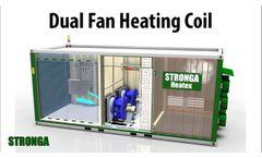 Stronga Heatex Dual Fan (DF) series | Biomass drying heat exchanger | 3D animation Video