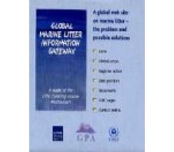 Global Marine Litter Information Gateway: A global web site on marine litter (Cd-Rom)