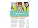 IOSH Working Safely Training - Brochure