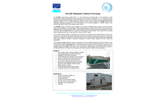 Pollution Control - Model Eco SAF - Wastewater Treatment System Brochure