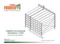 FodderPro - Model 3.0 - 375 lbs. - Commercial Feed Module Systems Brochure