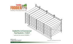 FodderPro - Model 3.0- 750 lbs. - Commercial Feed Module Systems Brochure