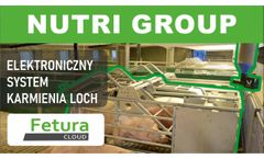 Fetura CLOUD - Nutri GROUP - electronic sow feeding system for gestation area (group feeding) - Video