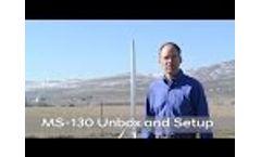 MS-130 Weather Station Setup - Video