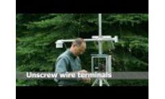 Temperature Pressure Humidity Sensor Installation - Video