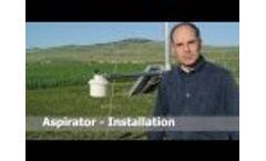 Aspirator Installation - Video