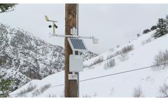 Weather stations for snowmaking applications