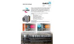 AddAir - Add Air Heat Exchanger System - Brochure
