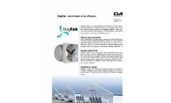 Magfan - Ultra Efficient, Energy Saving Wall Fan - Brochure