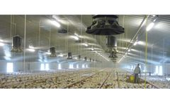 CoronaD - Air Inlet Fan for Poultry