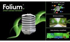 Folium? Greenhouse Multi Sensor - Video
