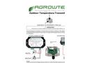 GrowControl - Model SXC - Digital Indoor Climate Sensor Datasheet