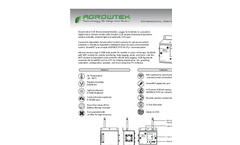GrowControl - Model SXE - Digital Indoor Environment Monitor Brochure