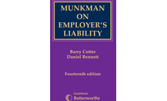 Munkman on Employer`s Liability 14th edition