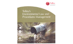 Environmental Law and Procedures Management (PIA Version)