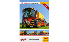 Vredo SlurryTrac - Model VT4556 - Self-Propelled Tracs - Brochure