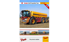 Vredo SlurryTrac - Model VT7028 - Self-Propelled Tracs - Brochure