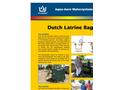 AAW - Dutch Latrine Bag Datasheet