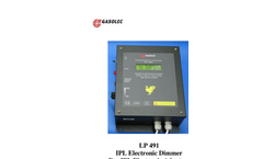 Gasolec - Model IPL - Light System Brochure