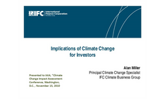 Strategic Implications of Climate Change for Institutional Investors