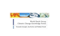 World Bank Group Climate Change Portal