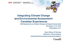 Canada Climate Change and Environmental Assessment