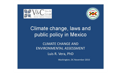 Proposed Climate Change Law in Mexico