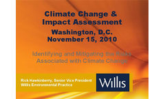Identifying and Mitigating the Risks Associated with Climate Change