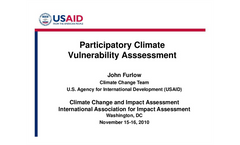Participatory Climate Vulnerability Assessment