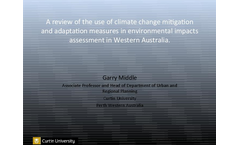 Adaptation of Sea Level Rise to Coastal Urban Planning in Australia