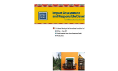Impact Assessment and Responsible Development for Infrastructure, Business and Industry - Preliminary Program