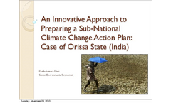 An Innovative Approach to Preparing a Sub-National Climate Change Action Plan: Case of Orissa State (India) Part II