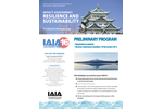 IAIA16: Resilience and Sustainability - Preliminary Program - Brochure