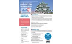 IAIA16 Sponsorship Flyer
