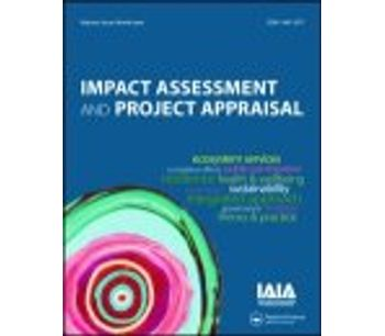 Impact Assessment and Project Appraisal