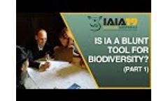 Debate: Impact assessment is a blunt tool for biodiversity: Yes or no? Part 1 of 3. Yes - Video