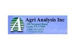 Agri Analysis Inc
