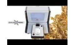 Portable Countertop GoldXpert XRF Analyzer Overview Video