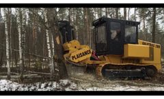 Galotrax 200 Compact and Lightweight Self-Propelled Mulcher - Video