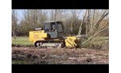 Galotrax 300 Medium-Power Self-Propelled Mulcher - Video