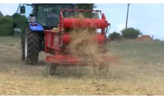 The St George Company - Poultry Special Straw Spreader - Video